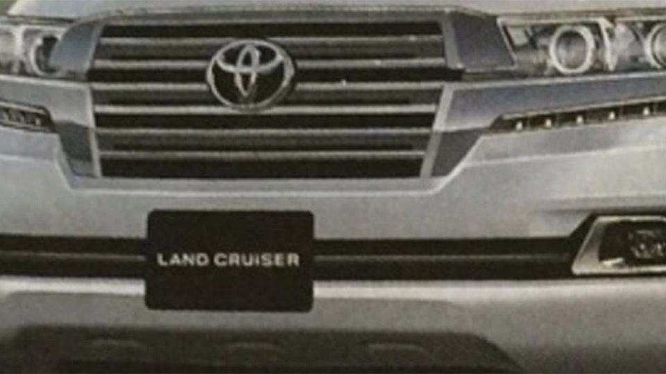 В Сети раскрыли дизайн обновленного Toyota Land Cruiser