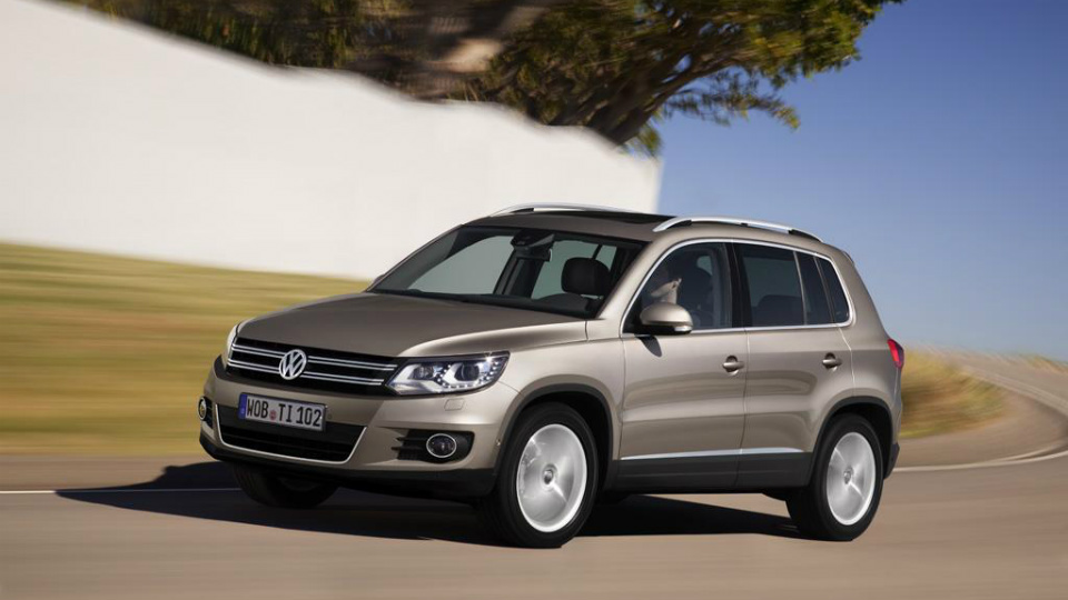Volkswagen Tiguan получил более мощные моторы
