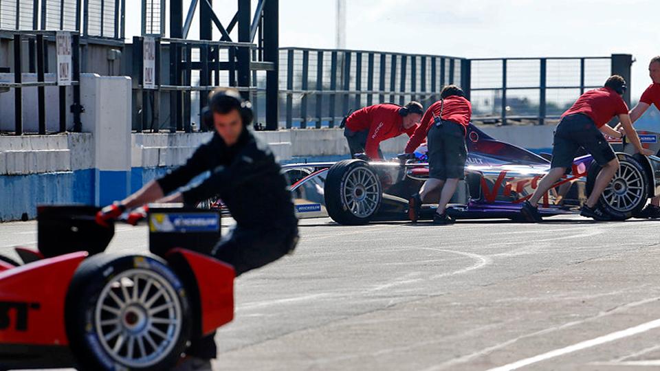 Команда Citroen провела секретные испытания болида Формулы-Е