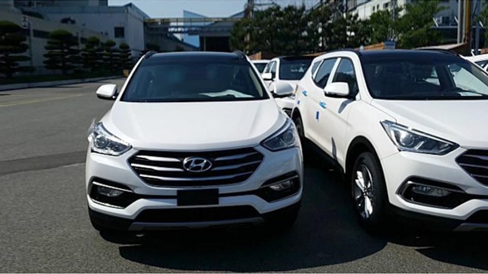 Обновленный Hyundai Santa Fe сфотографировали без камуфляжа