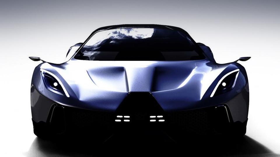 Компания PSC Motors готовит к дебюту 1700-сильный автомобиль с V8 и электромотором