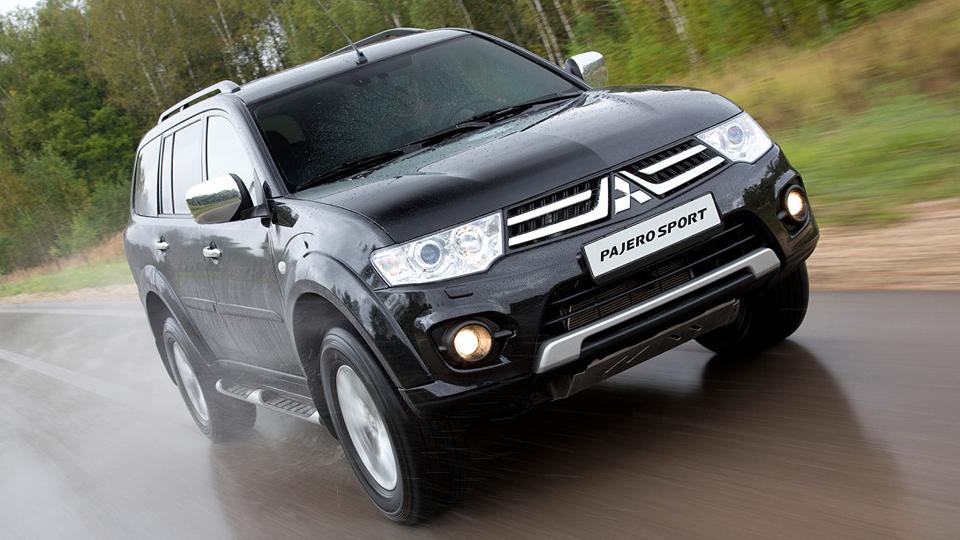 Новый Mitsubishi Pajero Sport появится в России в 2016 году