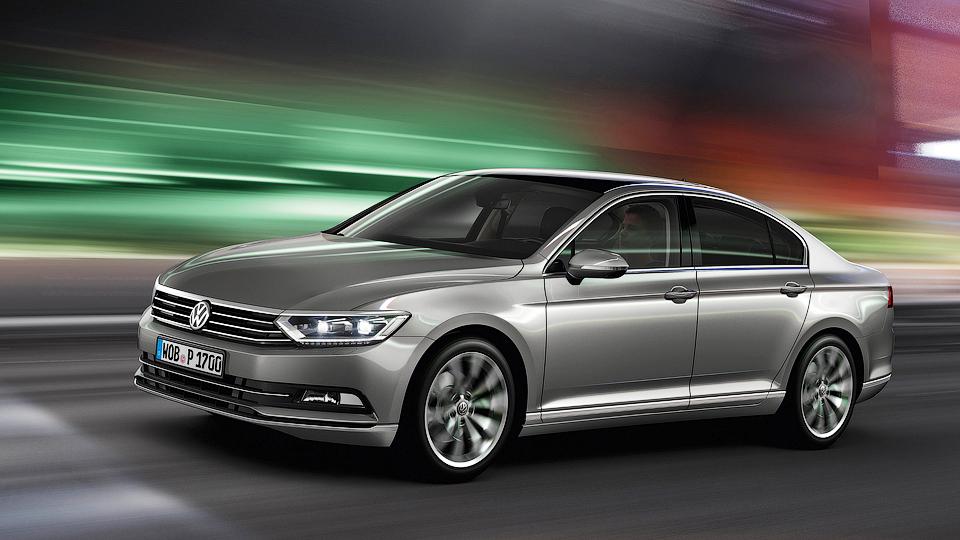 До России добрался новый Volkswagen Passat