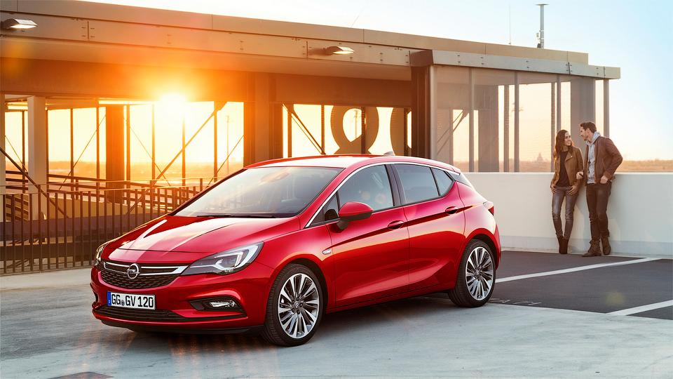 Новый хэтчбек Opel Astra представлен официально