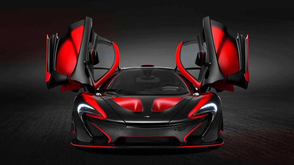 Супергибрид McLaren P1 получил эксклюзивную спецверсию