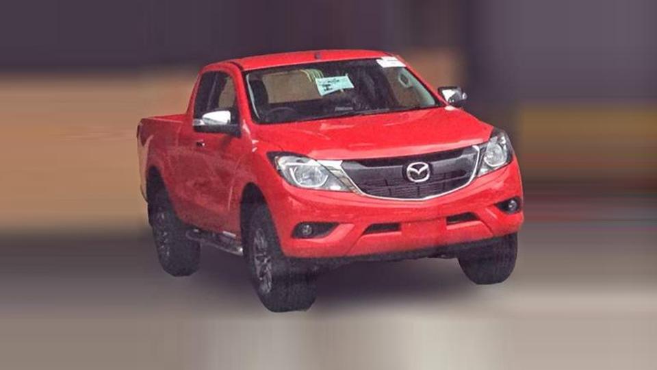 Дизайн обновленного пикапа Mazda BT-50 раскрыли в Сети