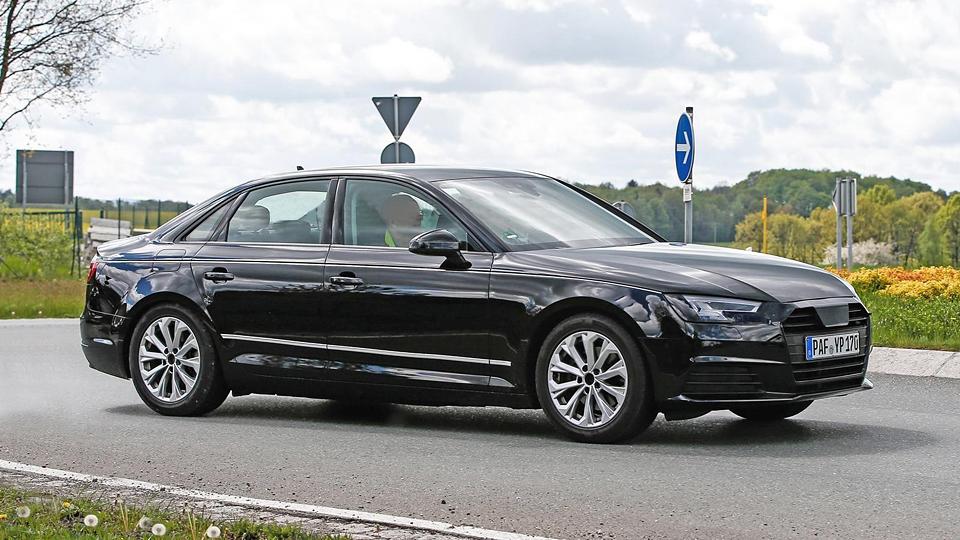 Фотошпионы засняли новый серийный седан Audi A4