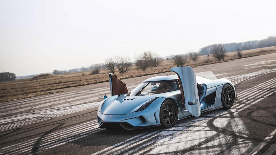 Супергибрид Koenigsegg Regera оценили в 2,1 миллиона евро