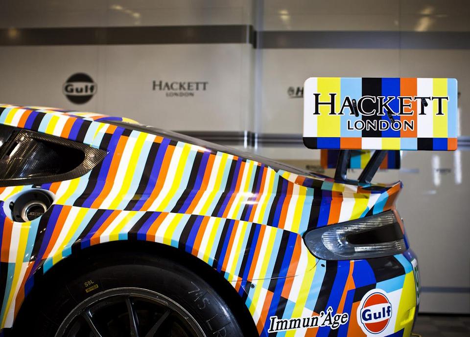 В раскраске автомобиля использовали оптико-геометрическую иллюзию