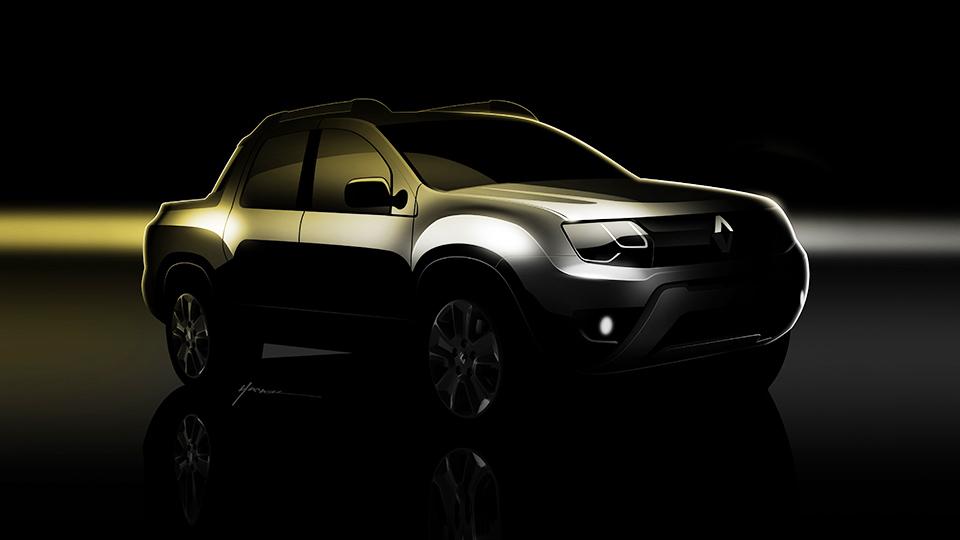 В Renault подтвердили появление пикапа Duster с двойной кабиной