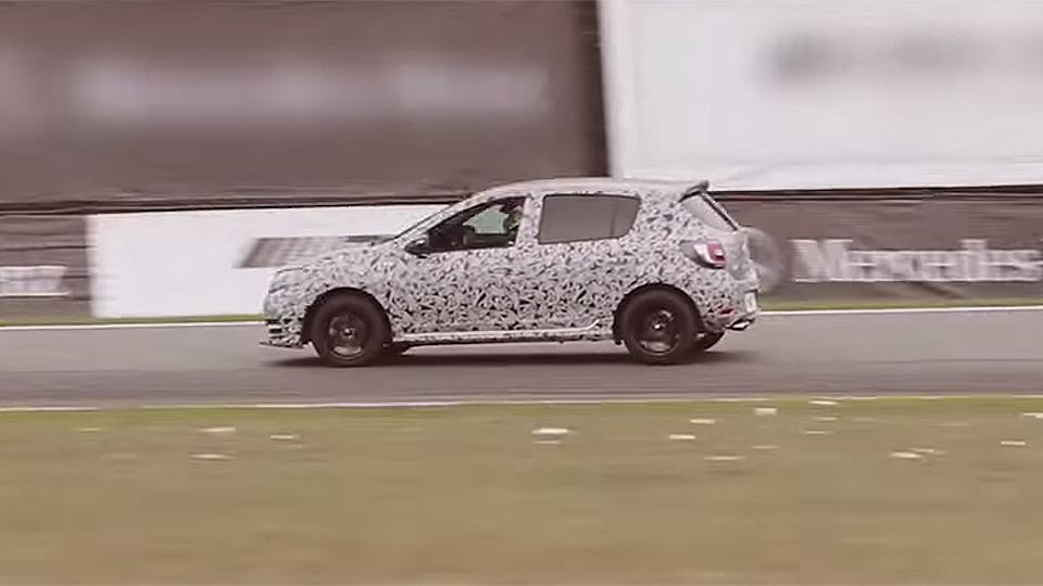 «Заряженный» Renault Sandero получит систему записи телеметрии