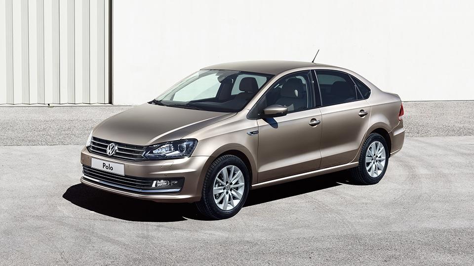 Седан Volkswagen Polo подорожал после обновления