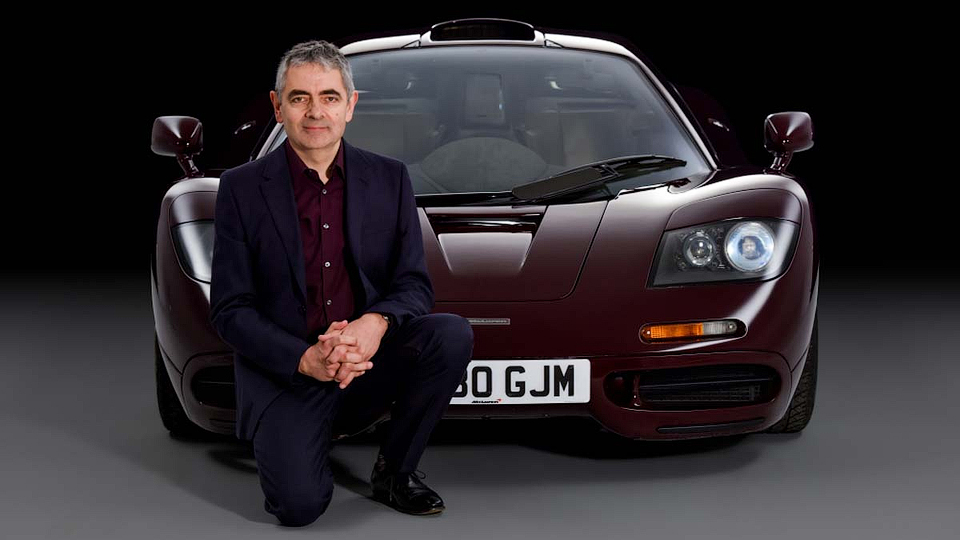 Мистер Бин продал свой McLaren F1 за 12 миллионов долларов