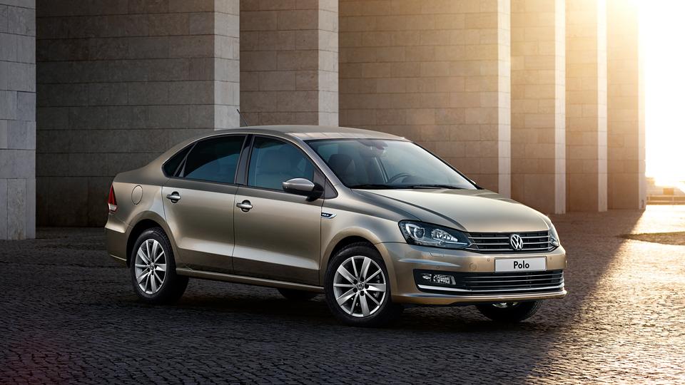 Российскому VW Polo седану добавят «подогретую» версию