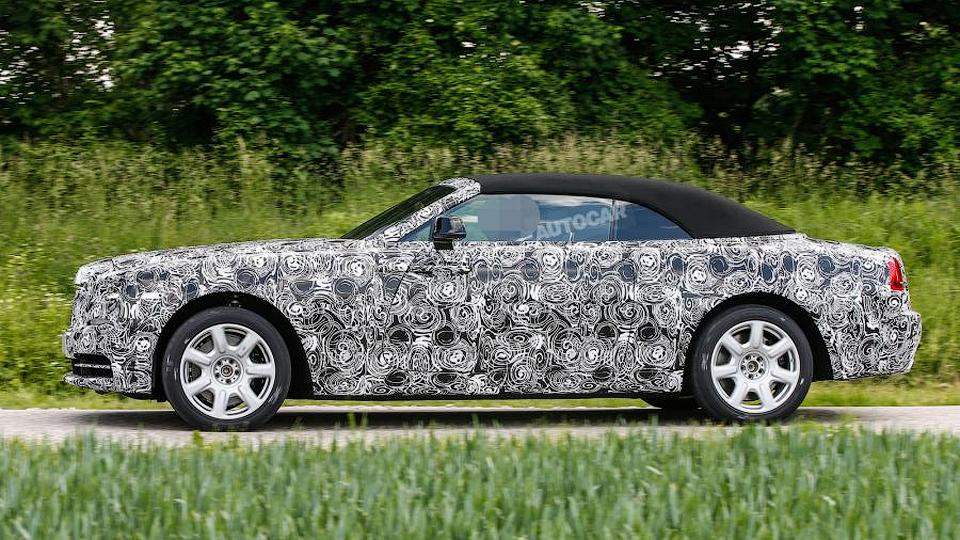 Rolls-Royce вывел на тесты новую модель