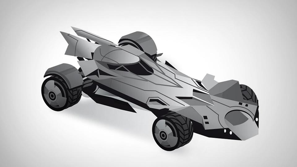 Новый «Бэтмобиль» разгонится до 330 километров в час