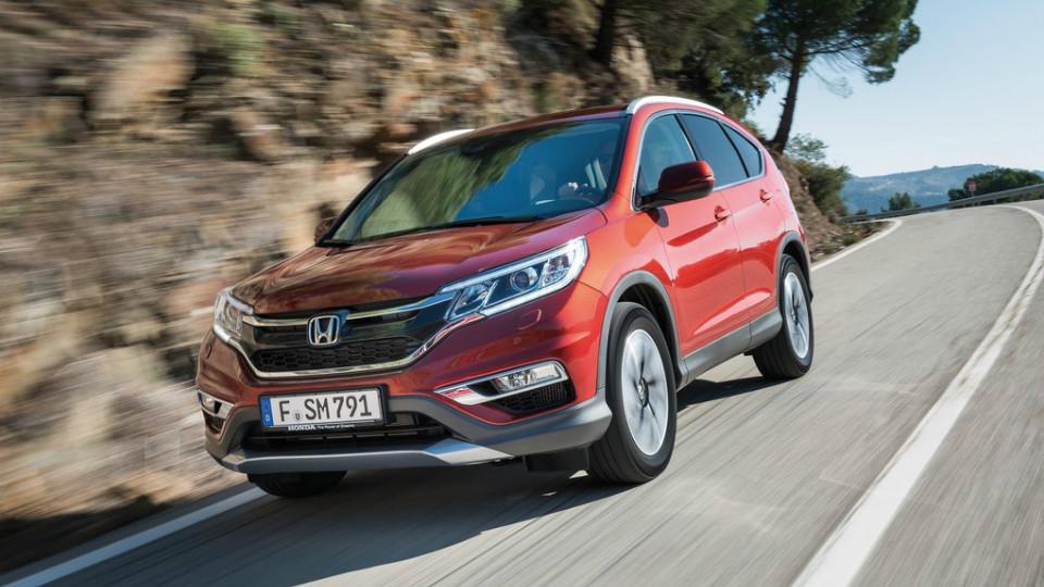 Honda назвала рублевую стоимость обновленного кроссовера CR-V