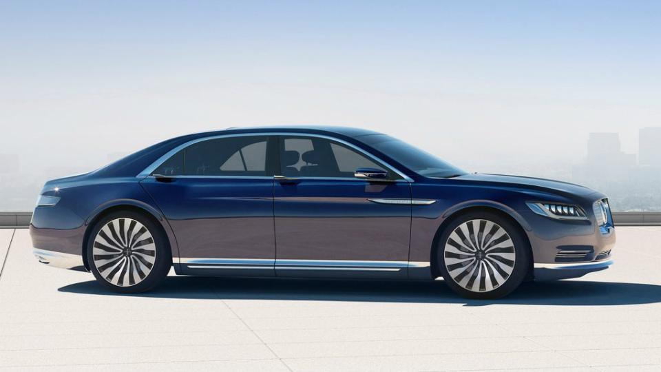 Серийный Lincoln Continental получит 400-сильный мотор