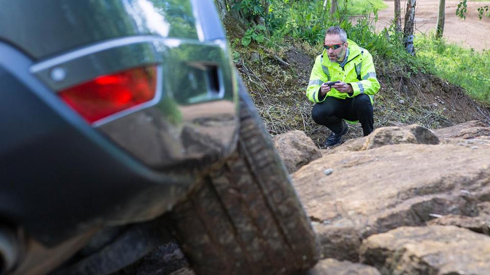 Land Rover испытал систему дистанционного управления автомобилем. Фото 1