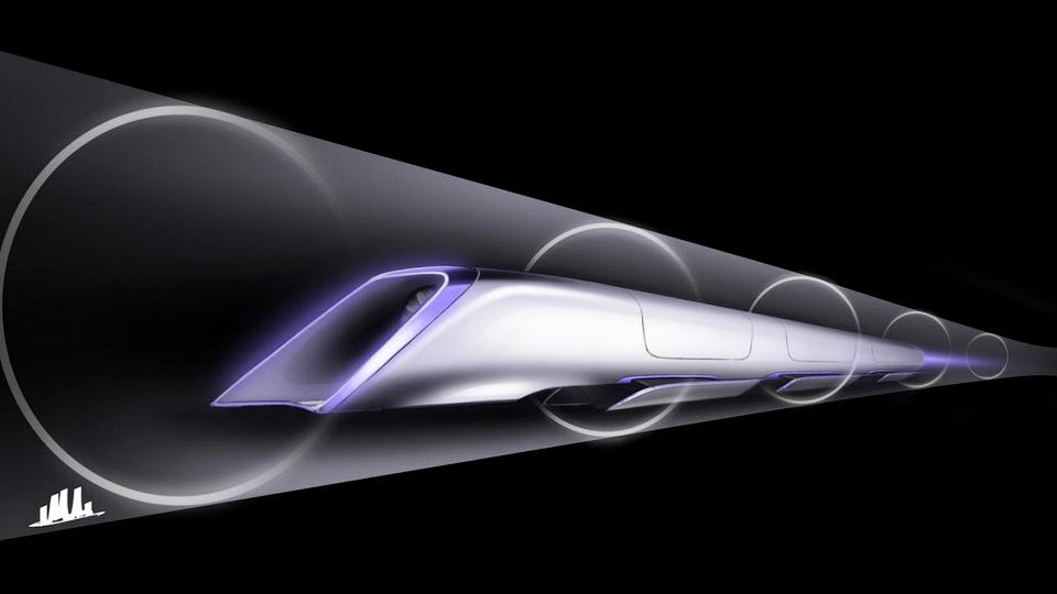 Глава «Теслы» построит «поезд» для путешествий со скоростью звука