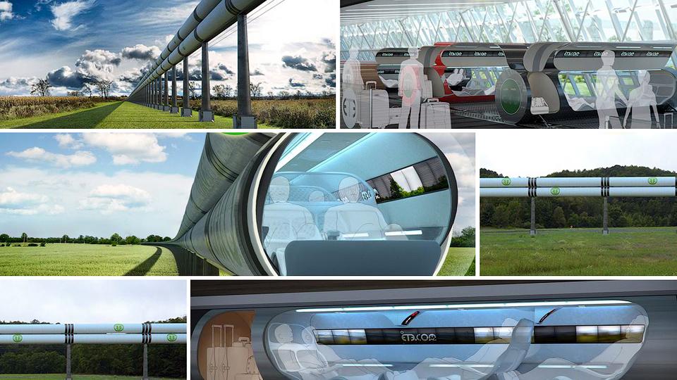 Компания SpaceX объявила конкурс на разработку сверхскоростного транспорта