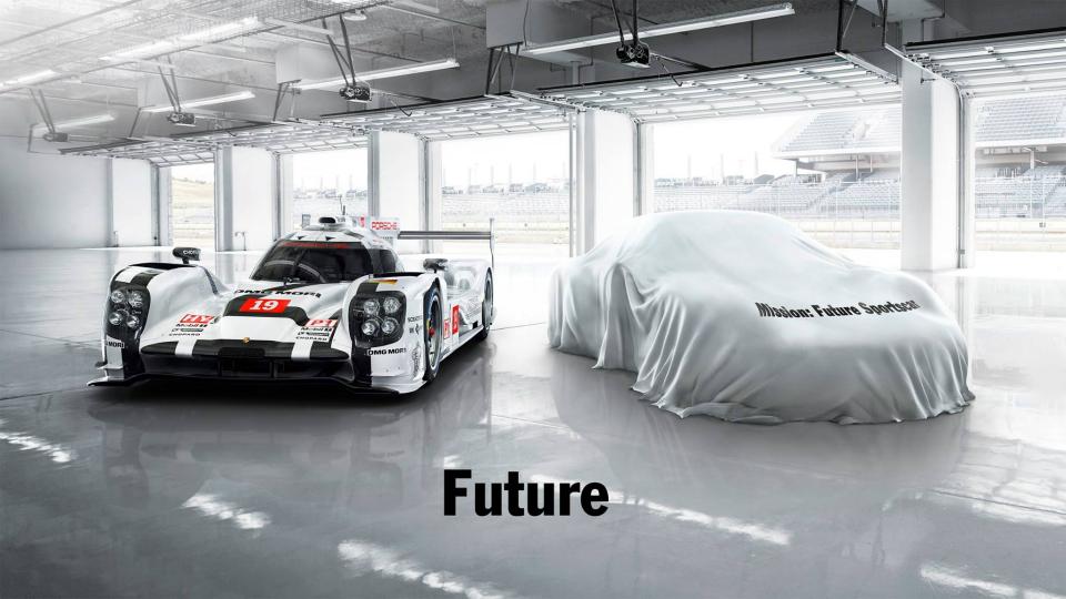 Компания Porsche намекнула на новый спорткар