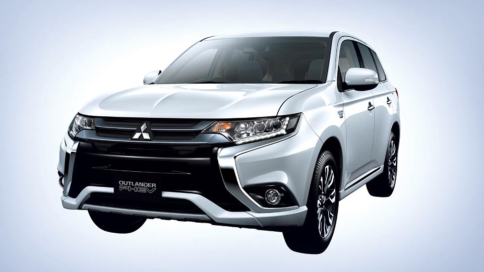 Компания Mitsubishi обновила гибридный Outlander