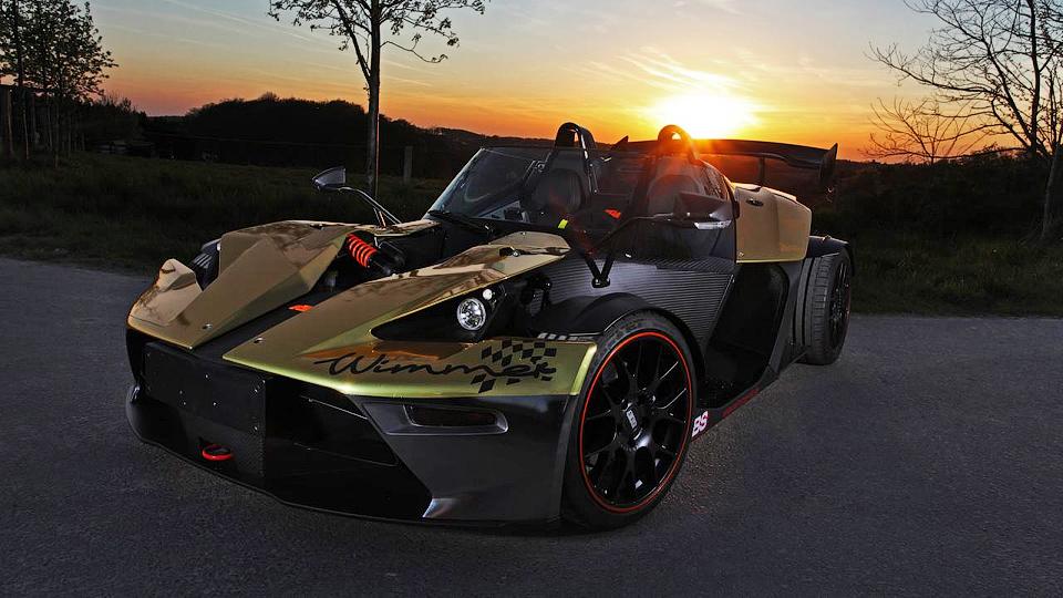 Немцы построили «золотой» KTM X-Bow