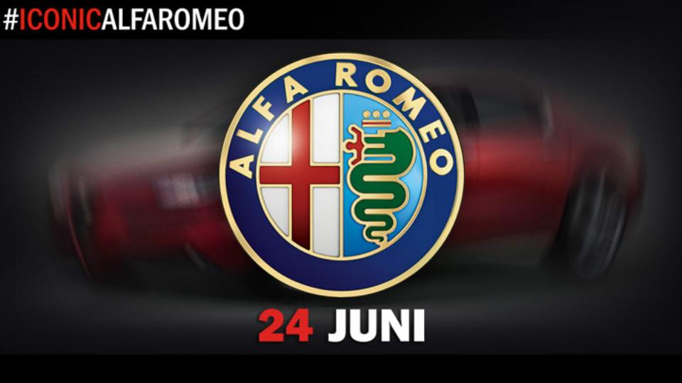 Компания Alfa Romeo подготовила к премьере новый седан