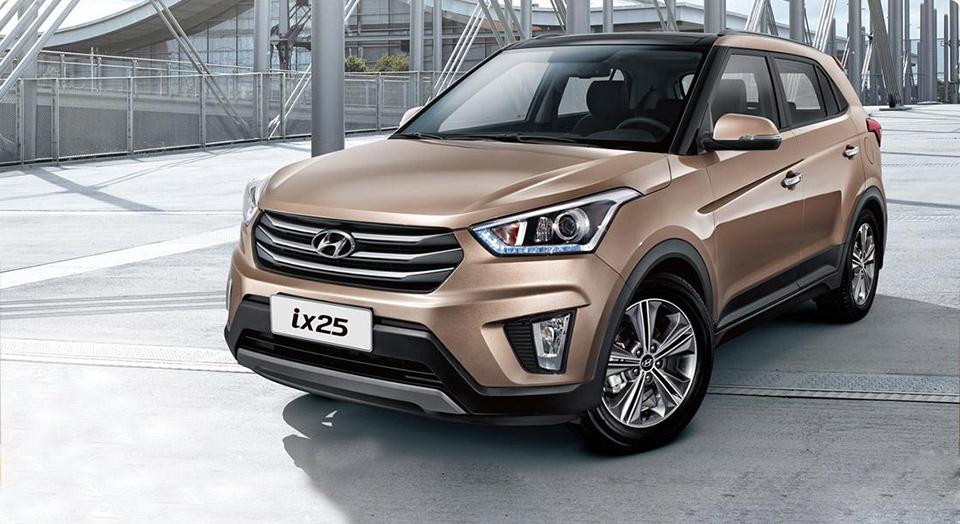 Hyundai Creta сняли в Индии