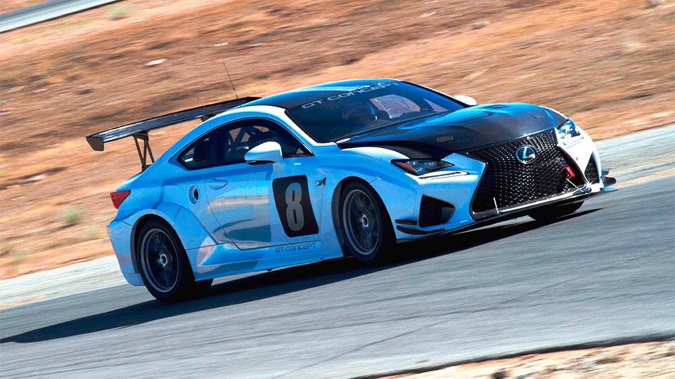 Lexus подготовил к Пайкс Пик «заряженное» купе RC F