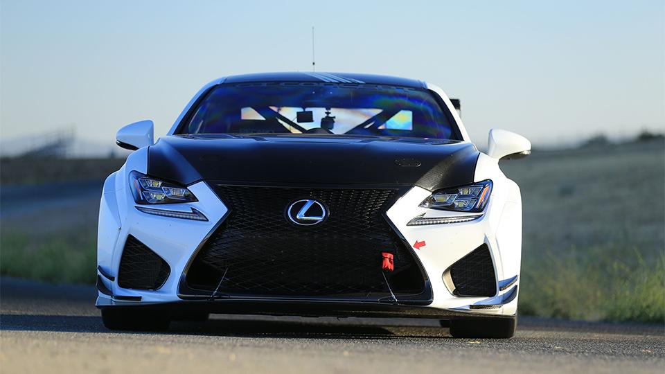 Lexus RC F на Пайкс Пик будет пилотировать победитель Ле-Мана. Фото 2