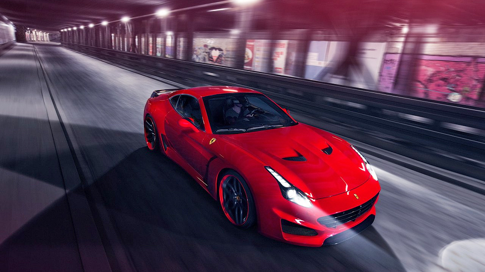 Ателье Novitec Rosso «зарядило» Ferrari California T