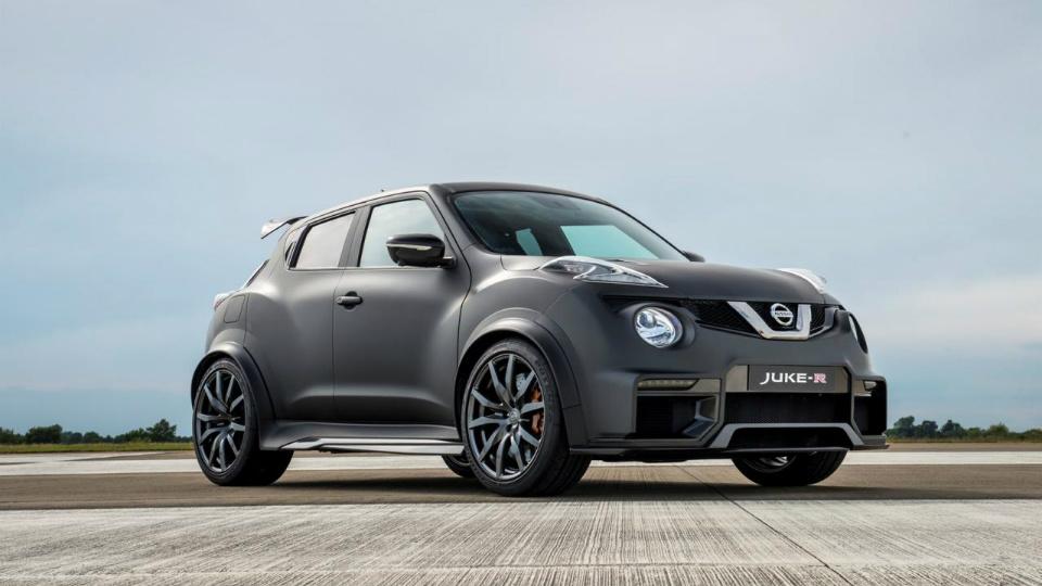 Nissan оснастил кроссовер Juke 600-сильным двигателем