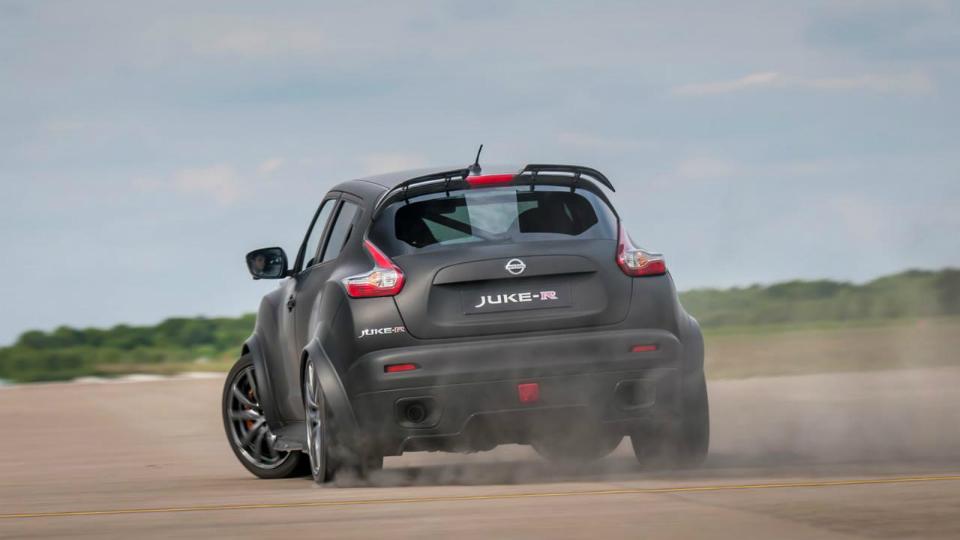 Juke с мотором от суперкара дебютирует на фестивале скорости в Гудвуде