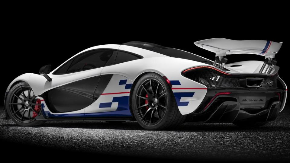 Британцы выпустили спецверсию суперкара P1 в честь Алена Проста