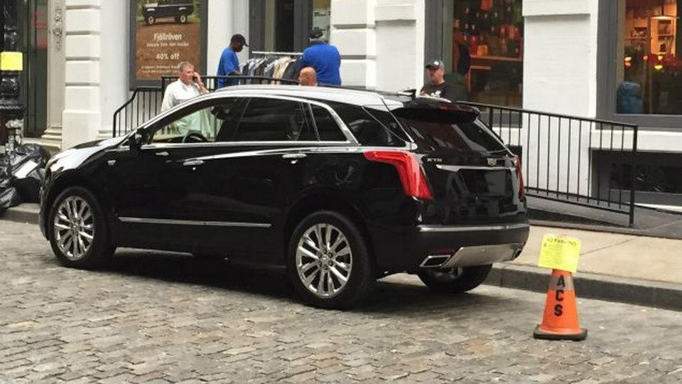 Новый вседорожник получит название Cadillac XT5