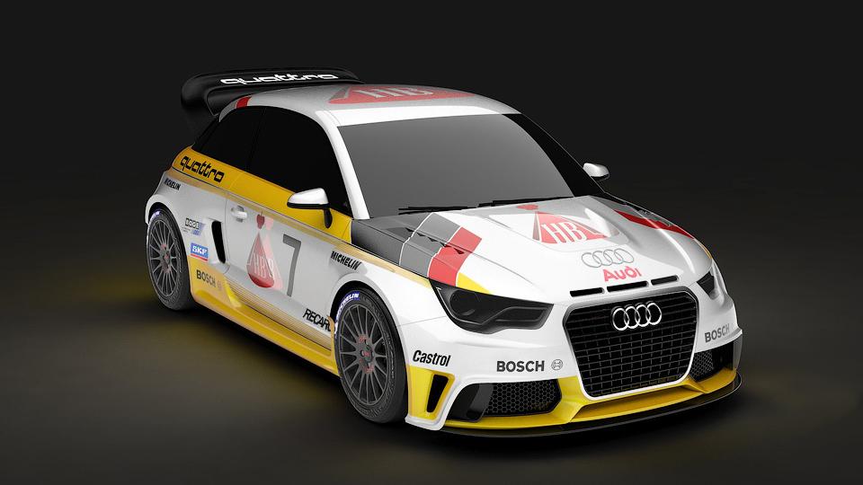 Немцы превратят Audi A1 в ралли-кар группы B