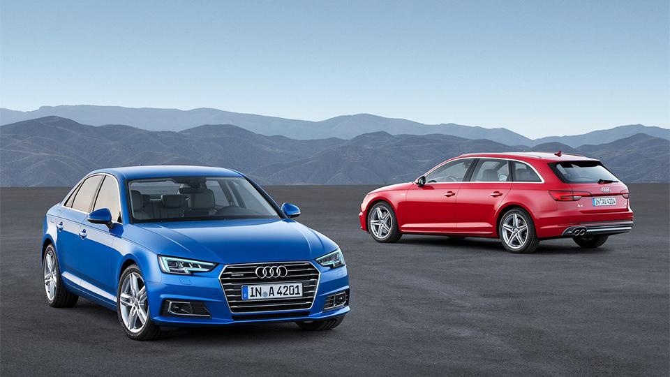 Audi A4 сделали на центнер легче