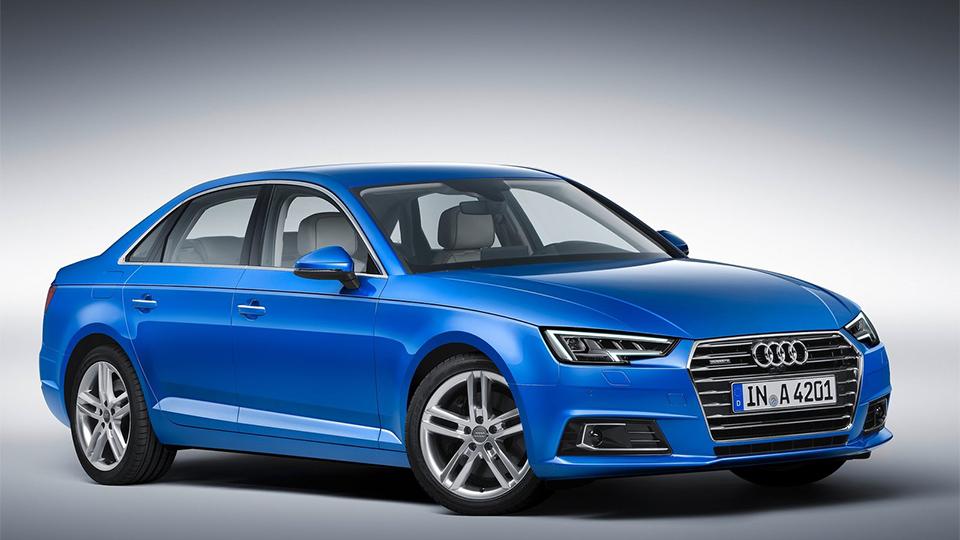 Компания Audi представила семейство A4 нового поколения