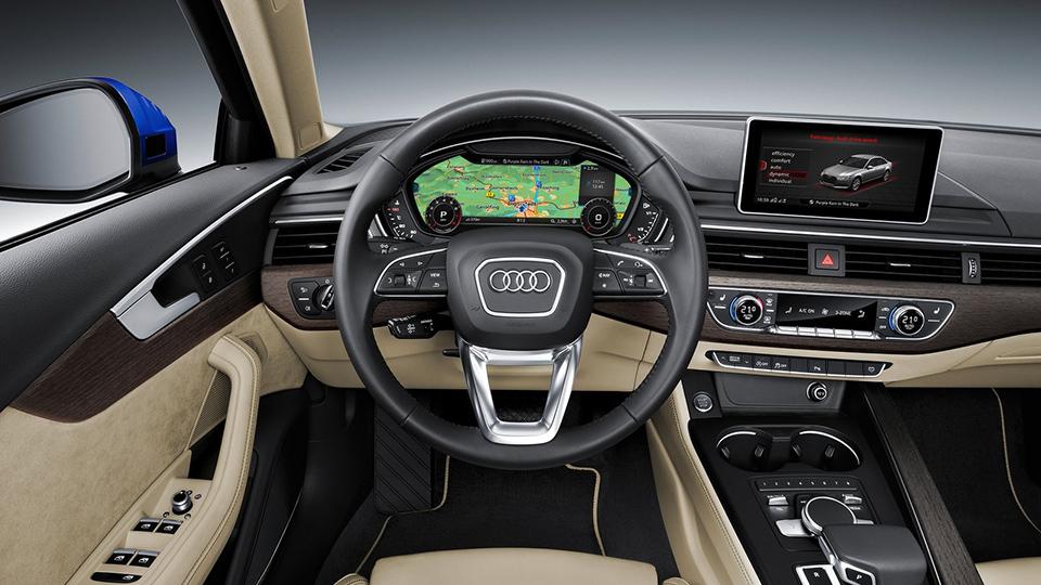 Компания Audi представила семейство A4 нового поколения. Фото 1