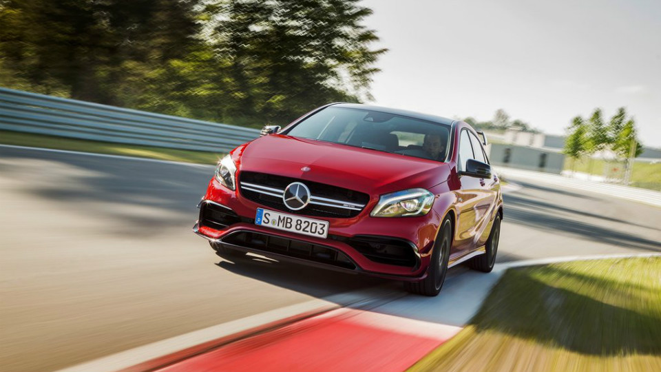 Mercedes-Benz A45 AMG вернул себе звание мощнейшего хот-хэтча
