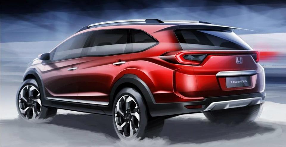 В августе дебютирует концептуальный кроссовер Honda BR-V