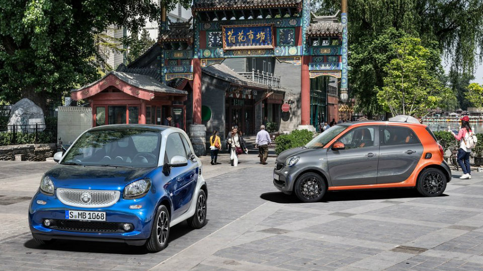 Smart обновил компакт-кары ForTwo и ForFour