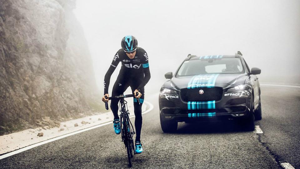 Кроссовер Jaguar примет участие в велогонке «Тур де Франс»