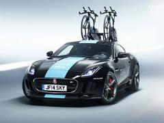 Вседорожник превратили в машину поддержки британской велокоманды