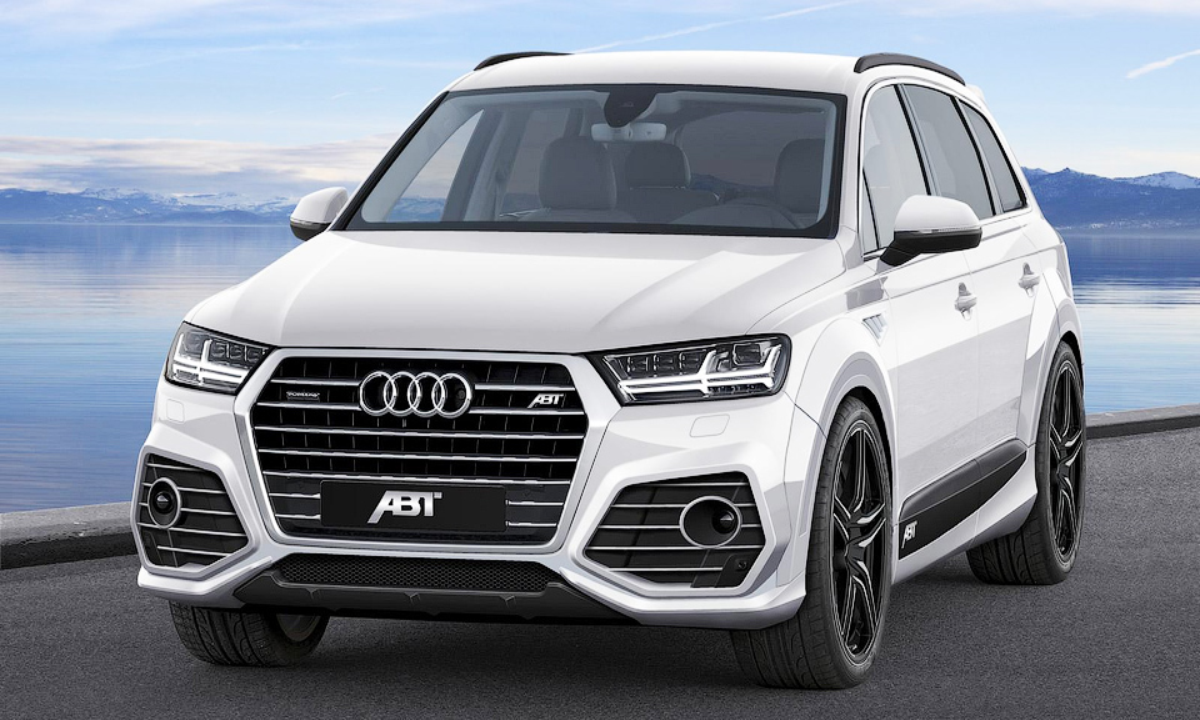 Новый Audi Q7 превратили в «императора автомагистрали»