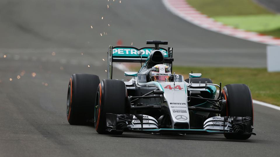 Хэмилтон выиграл квалификацию домашнего Гран-при