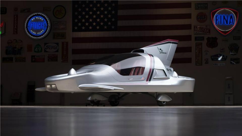 На аукционе продали прототип летающей машины Boeing