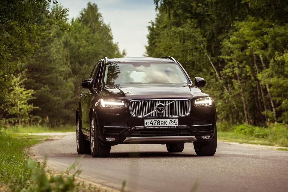 21-дюймовые колеса вроссийских ямах иматрешка вместо рычага «автомата»: тест Volvo XC90. Фото 3
